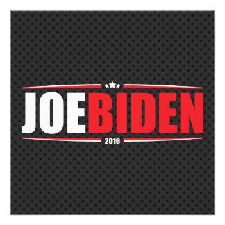 Joe Biden 2016 (estrellas y rayas - negro) Arte Con Fotos