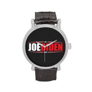 Joe Biden 2016 (estrellas y rayas - negro) Reloj