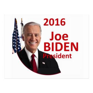 Joe BIDEN 2016 Postcard