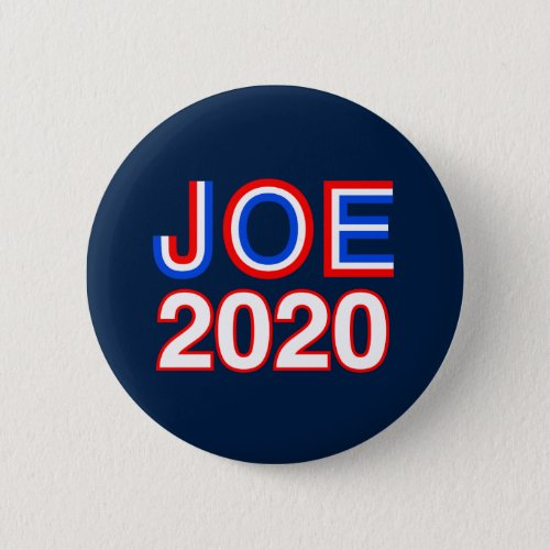 Joe Biden 2020 Button