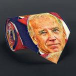 """Joe Biden 4 USA_ Neck Tie<br><div class=""""desc"""">Necktie-Tie with 47th President Joe Biden art on it. Tie for Men and Women</div>"""