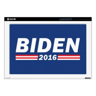 "Joe Biden, Biden 2016 17"" Laptop Decals"