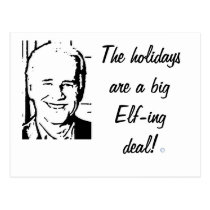 Joe Biden Big Elf-ing Deal Postcard