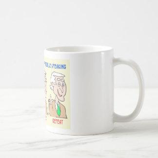 Joe Biden blather wince repeat Coffee Mug
