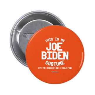 Joe Biden Costume Pinback Button