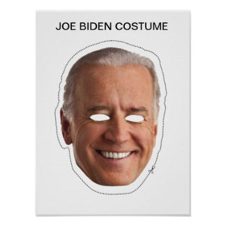 Joe Biden Costume Poster