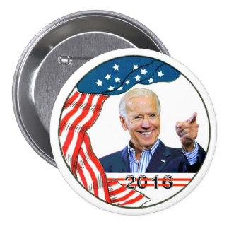 Joe Biden en 2016 Pin Redondo De 3 Pulgadas