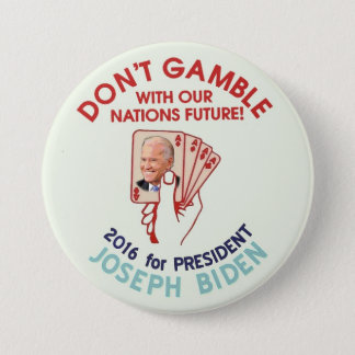 Joe Biden for President 2016 Button
