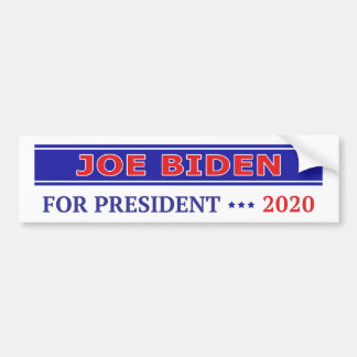 Joe Biden for President 2020 Bumper Sticker