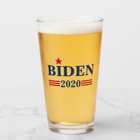 Joe Biden for President 2020 Glass