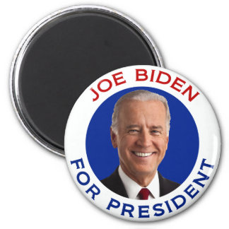 Joe Biden For President 2 Inch Round Magnet