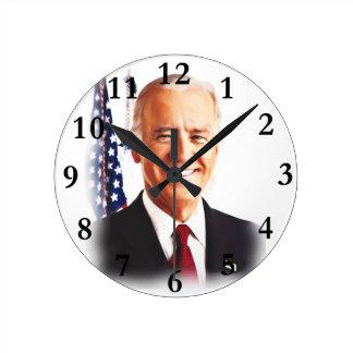 Joe Biden-For USA President 2016 Round Clock