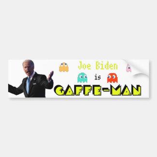Joe Biden/Gaffe-Man Bumper Sticker
