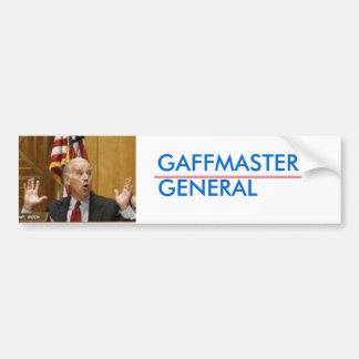 Joe Biden Gaffmaster General Bumper Stickers