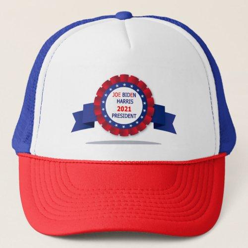 Joe  Biden Harris President 2021 Trucker Hat