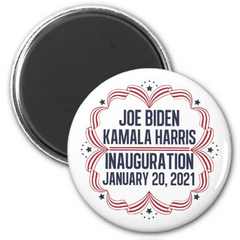 Joe Biden Kamala Harris Inauguration 2021 Magnet