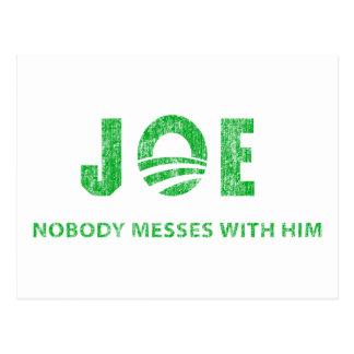 Joe Biden - nadie ensucia con él - Barack Obama Postal