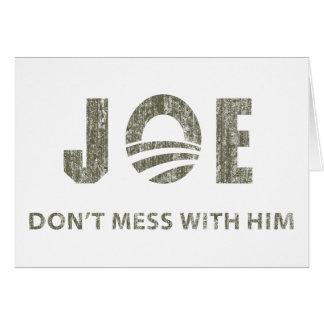 Joe Biden - Nobody Messes With Him Cards