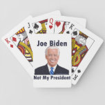 Joe Biden Not My President Classic Playing Cards