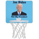 Joe Biden Not My President Mini Basketball Hoop