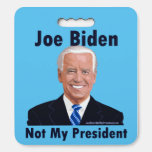 Joe Biden Not My President Seat Cushion