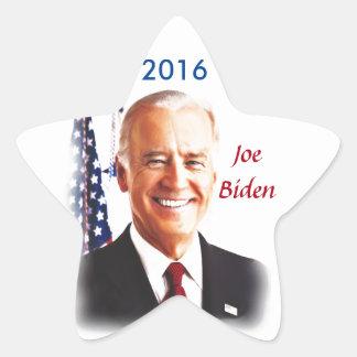 Joe Biden-Para el presidente 2016 de los E.E.U.U. Pegatina En Forma De Estrella