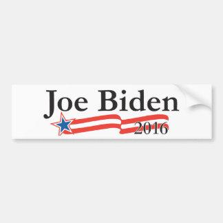 Joe Biden para el presidente 2016 Pegatina Para Auto