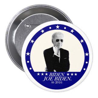 Joe Biden para el presidente en 2016 Pin Redondo De 3 Pulgadas