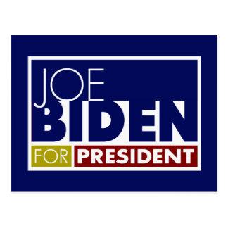 Joe Biden para presidente V1 Tarjetas Postales