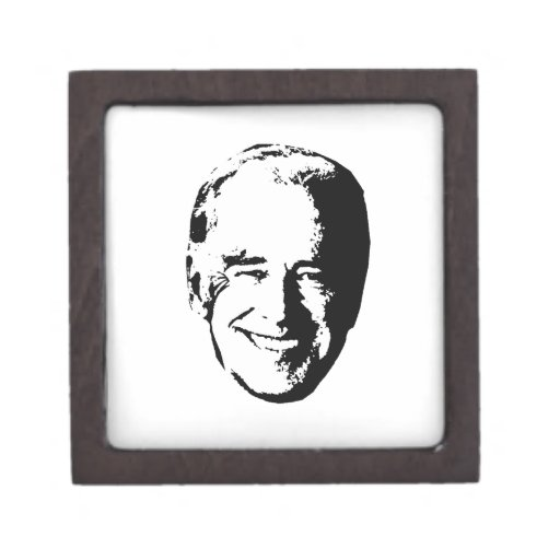 JOE BIDEN - -.png Premium Keepsake Box