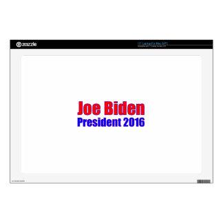 """Joe Biden President 2016 Skin For 17"""" Laptop"""