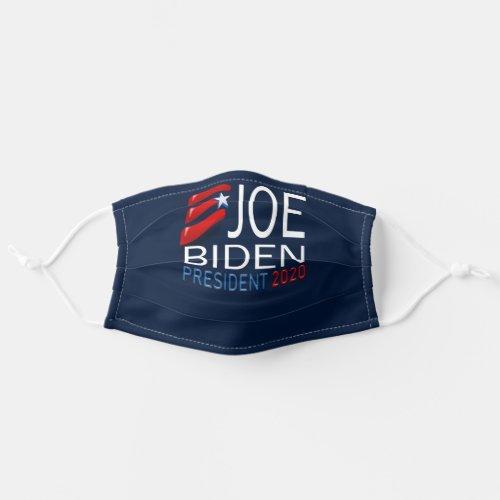 Joe Biden President 2020 Election Red Blue Text Cloth Face Mask