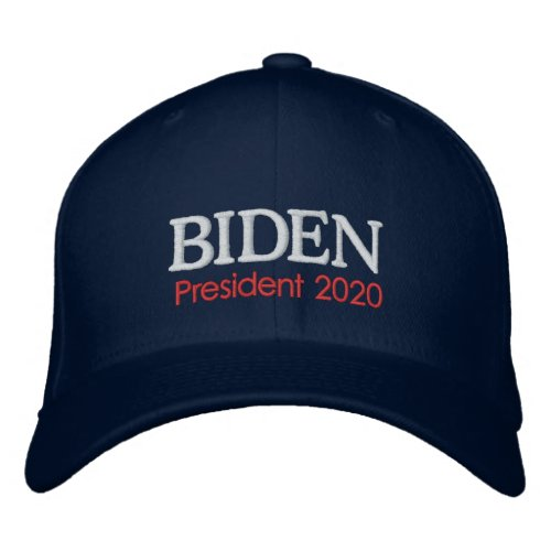 Joe Biden President 2020 Embroidered Baseball Cap