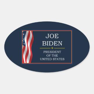 Joe Biden President V3 Oval Sticker