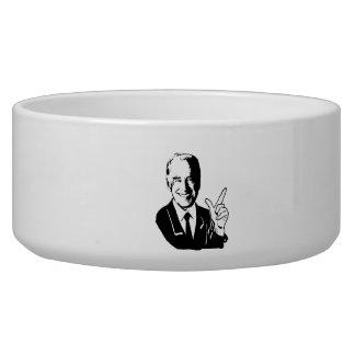 JOE BIDEN SAYS.png Dog Bowl