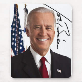 Joe Biden Signature Mousepad