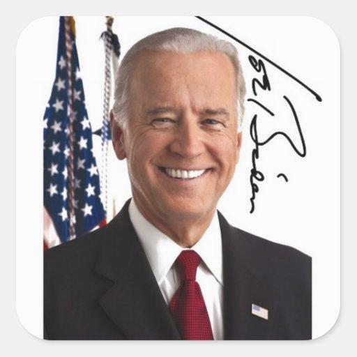 Joe Biden Signature Stickers