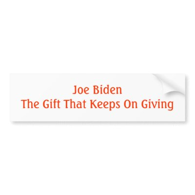 Joe Biden the gift that keeps giving