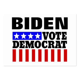 Joe Biden Vote Democrat  for President Large Business Card