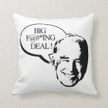 Joe Biden's BFD Throw Pillow