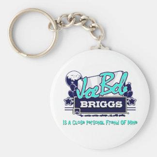 Joe Bob Briggs Basic Round Button Keychain