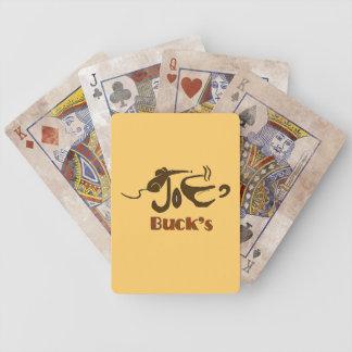 Joe Buck's Playing Cards