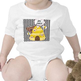 Joe Cool tshirt baby personalized sleeper