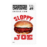 Joe descuidado sellos