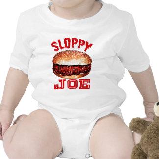 Joe descuidado trajes de bebé