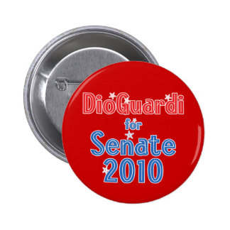 Joe DioGuardi for Senate 2010 Star Design Pinback Button