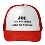 Joe el casquillo del fontanero gorras