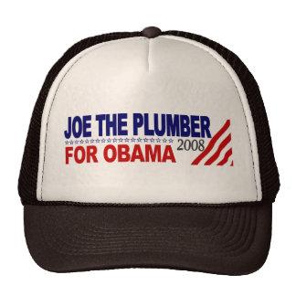 Joe el fontanero para Obama Gorra