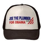 Joe el fontanero para Obama Gorras