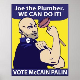 Joe el fontanero, podemos hacerlo. Poster